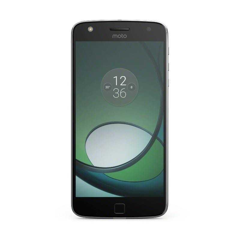 MotoZPlay SilverDv FrontSide ROW RGB - IFA 2016. Новый смартфон Moto Z Play и фотомодуль Hasselblad True Zoom