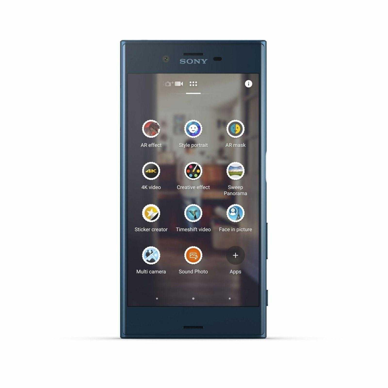Sony XZ Forest Blue Front 1 - IFA 2016. Sony представила новые смартфоны X compact и XZ