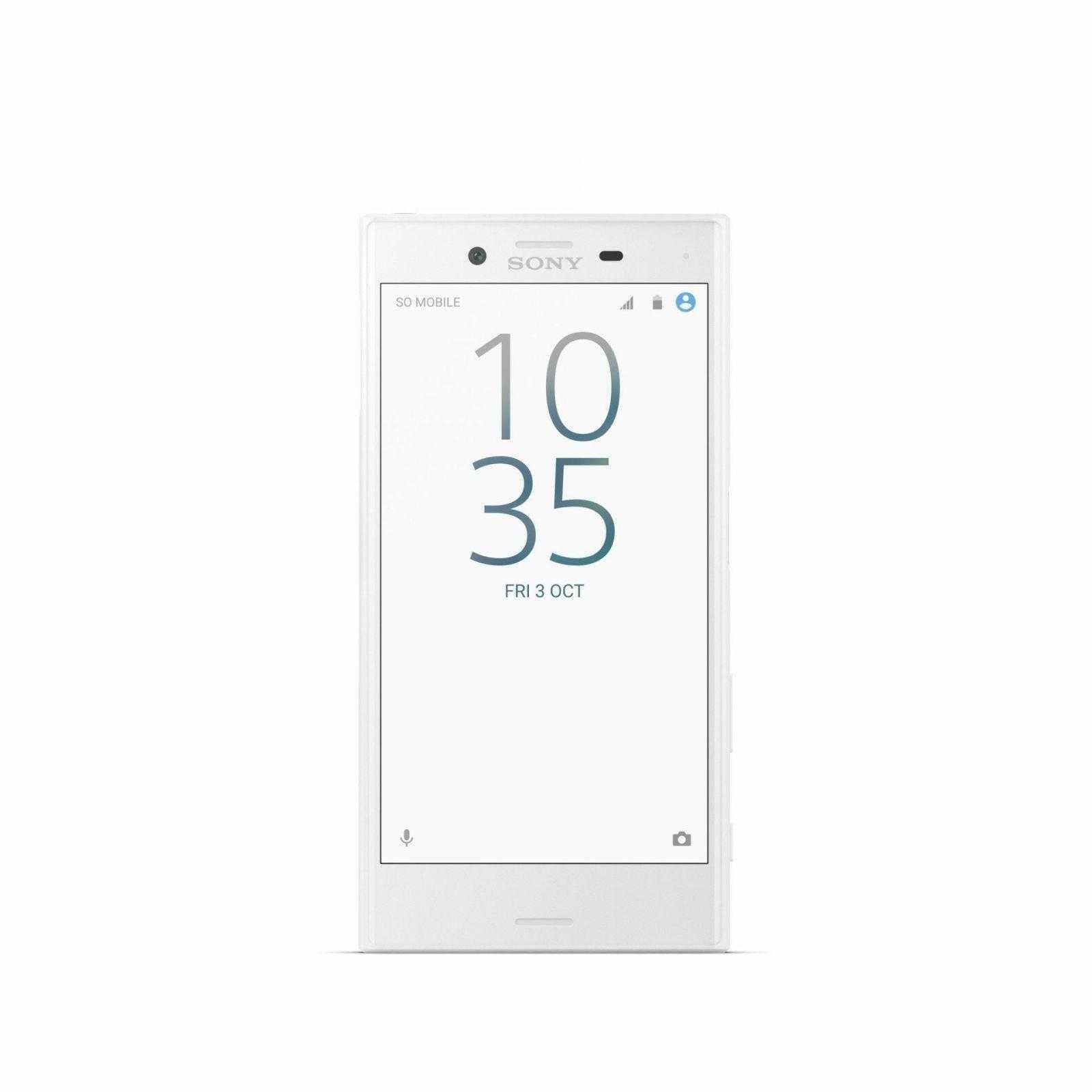 Sony Xperia X Compact White Front 1 - IFA 2016. Sony представила новые смартфоны X compact и XZ