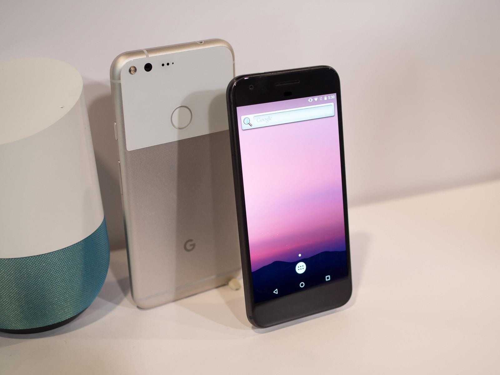 google pixel hardware 16 - Google выпустил новые смартфоны Pixel и Pixel XL