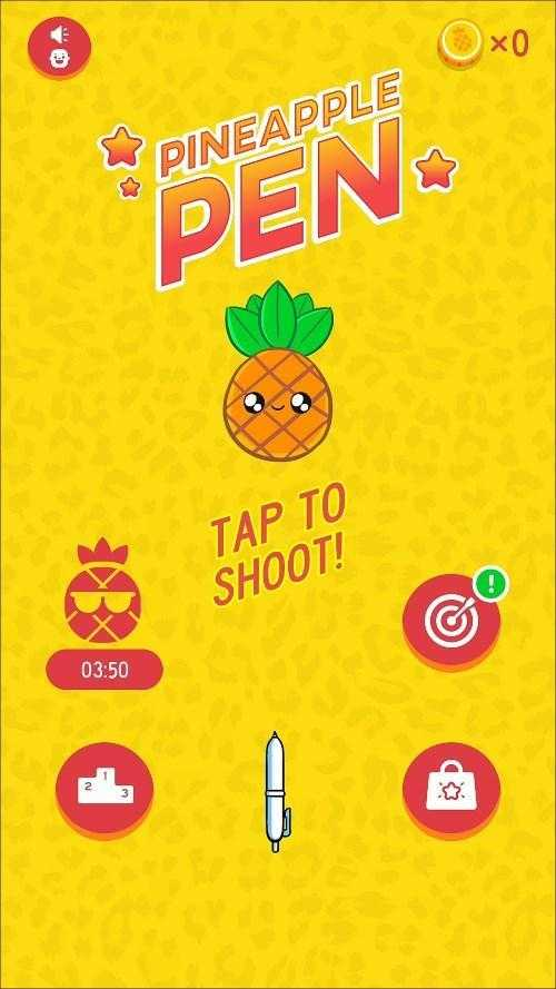 pineapple pen android