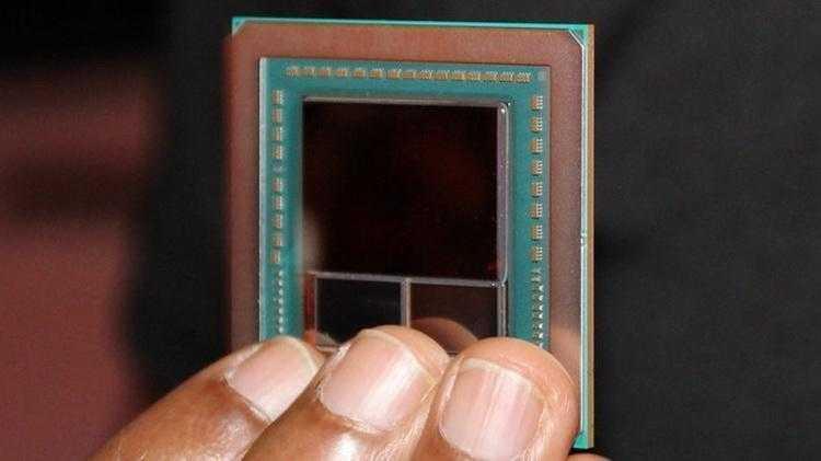 AMD Vega GPU 2 - CES 2017. Фото нового графического процессора AMD Vega 10