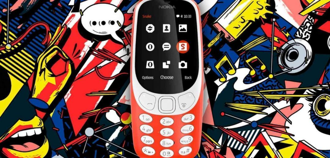 nokia 3310 1078x516 - MWC 2017. Nokia 3310 возвращается в новом облике