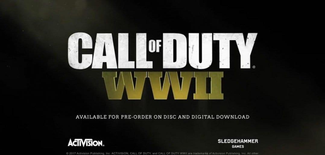 Call of Duty WWII 4 1078x516 - E3 2017. Call of Duty WWII обзавёлся мультиплеерным трейлером