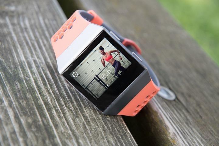 Fitbit Ionic Running Start Sports thumb - Fitbit представил свои первые умные часы Ionic