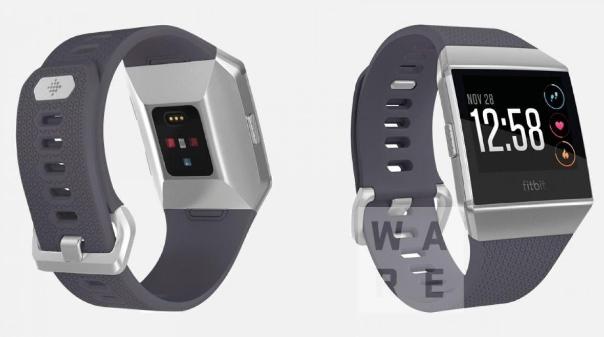 Умные часы Fitbit засветились в сети
