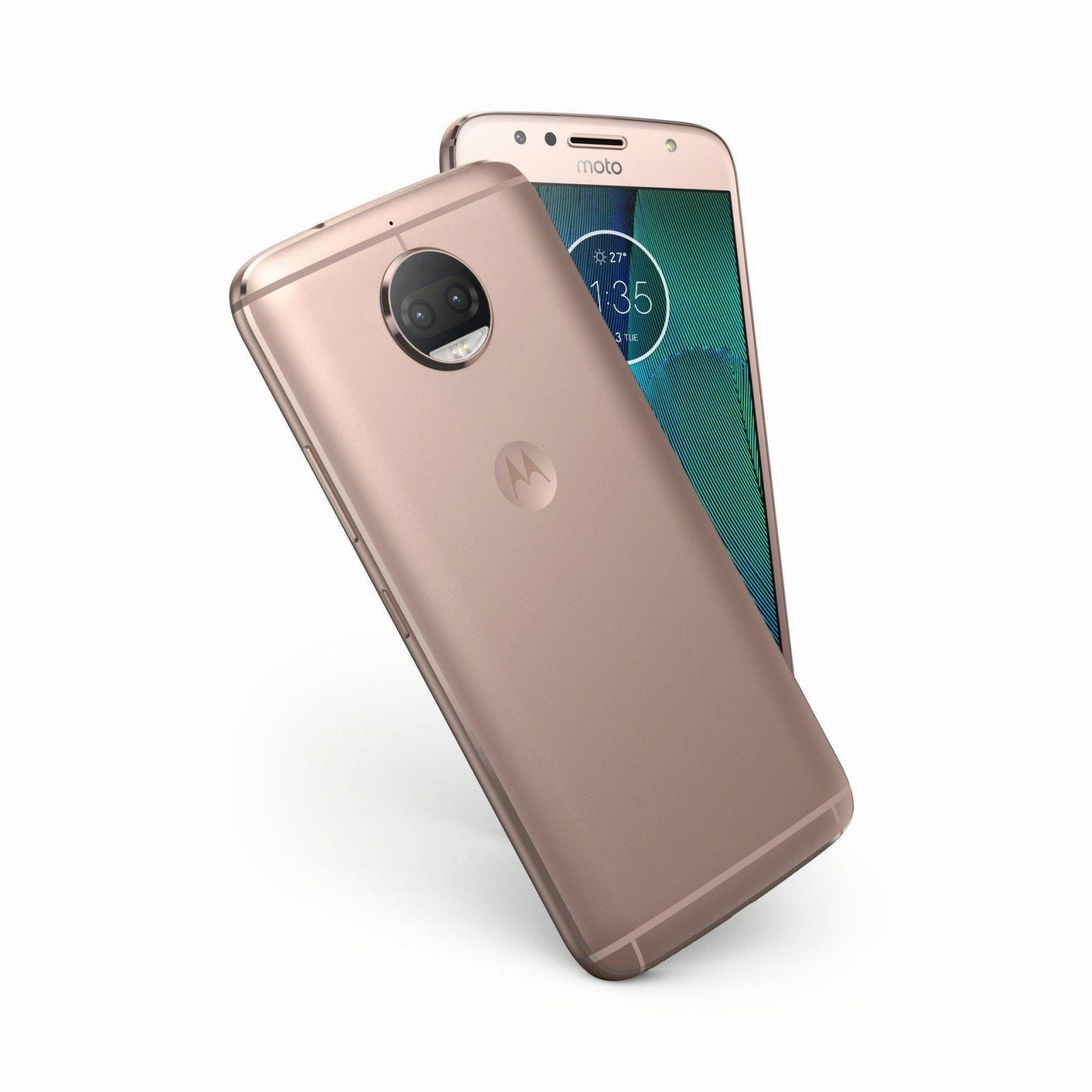 MotoG5SPlus NFC BlushGld Design - Motorola выпустила смартфоны Moto G5 Special Edition и Moto G5 Special Edition Plus
