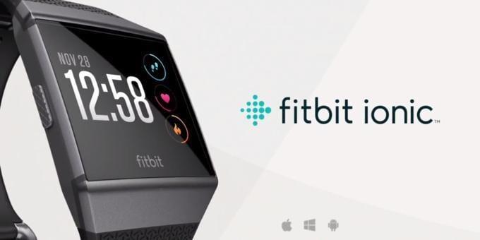 fitbit ionic hh - Fitbit представил свои первые умные часы Ionic