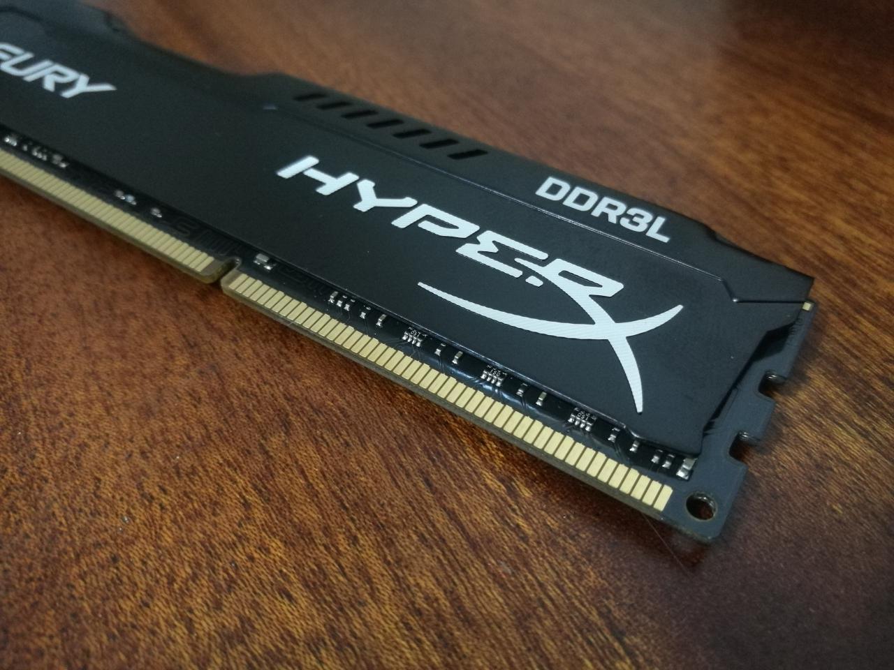 kingston ddr3l 7 - Как сэкономить на оперативной памяти и не проиграть. Обзор HyperX FURY DDR3L