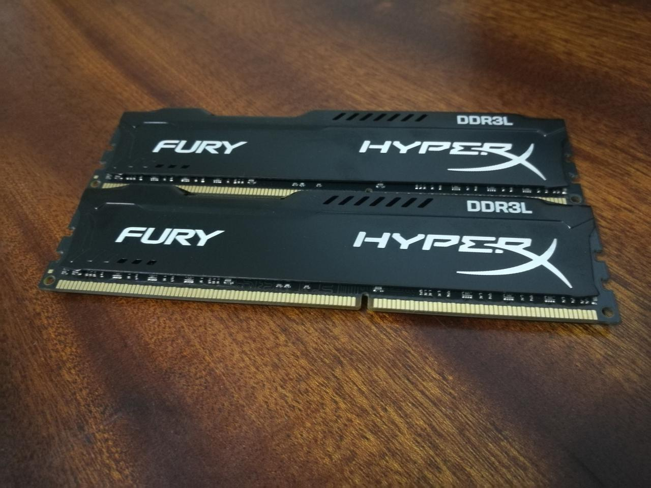 kingston ddr3l 8 - Как сэкономить на оперативной памяти и не проиграть. Обзор HyperX FURY DDR3L