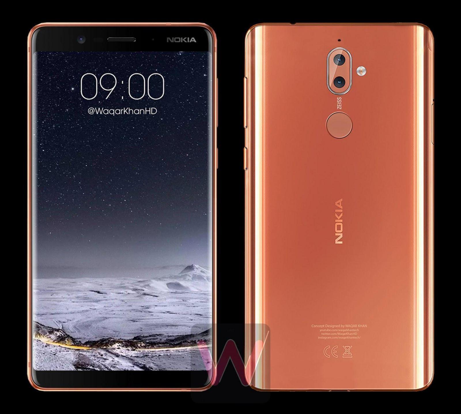 Nokia 9 получит безрамочный дисплей