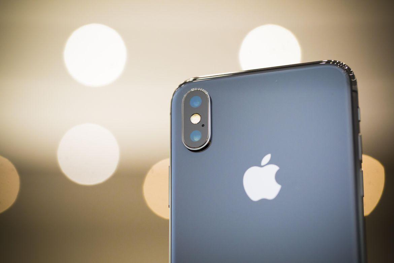 Задняя панель iPhone X Живые фото iPhone X