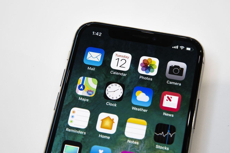 Экран iPhone X Живые фото iPhone X