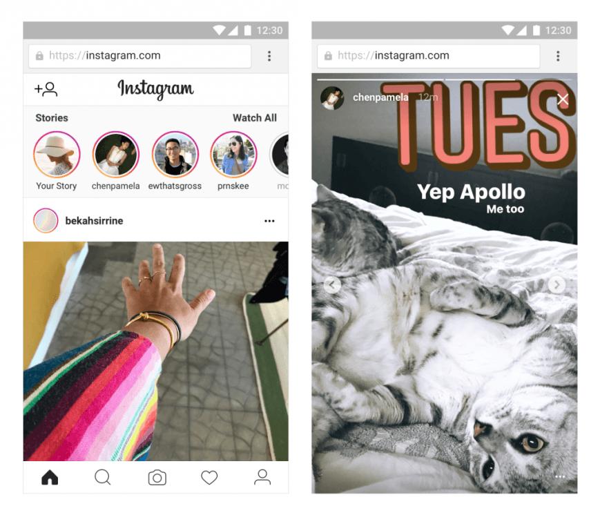 Instagram Stories теперь доступны в браузере