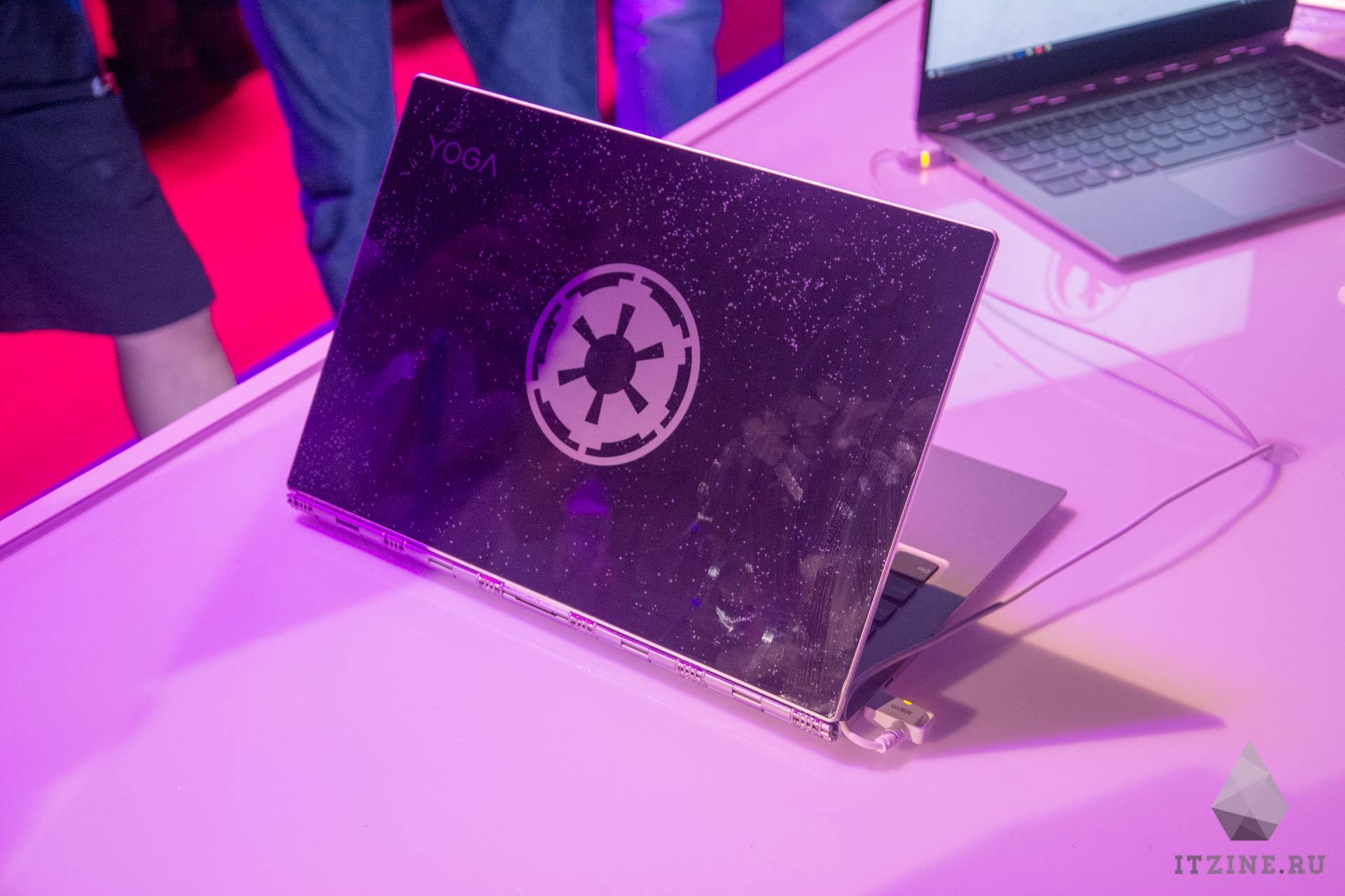 IFA 2017. Lenovo представила ноутбук Yoga 920 и его специальные издания со Star Wars