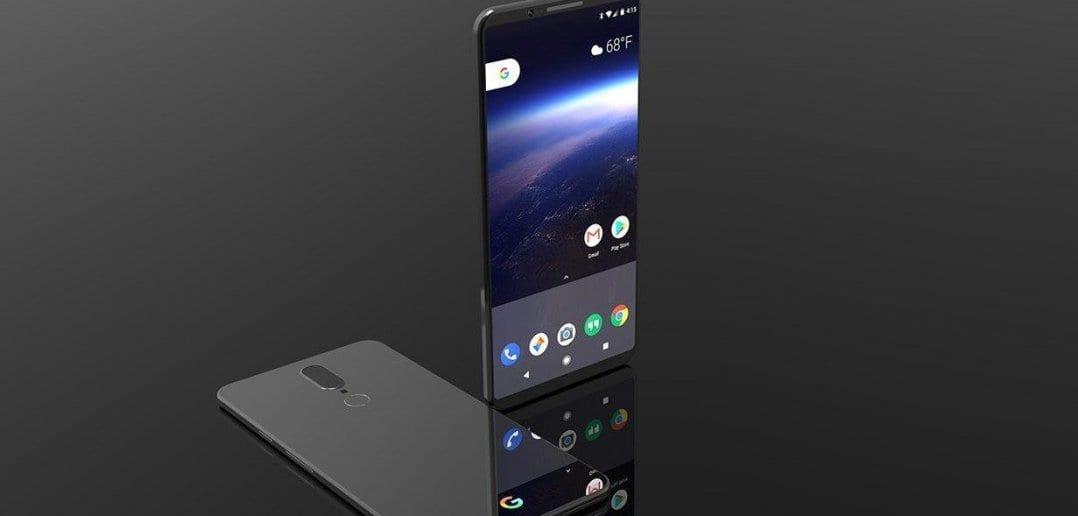 Google Pixel 2 Concept Taimen 1078x516 - Google планирует купить HTC