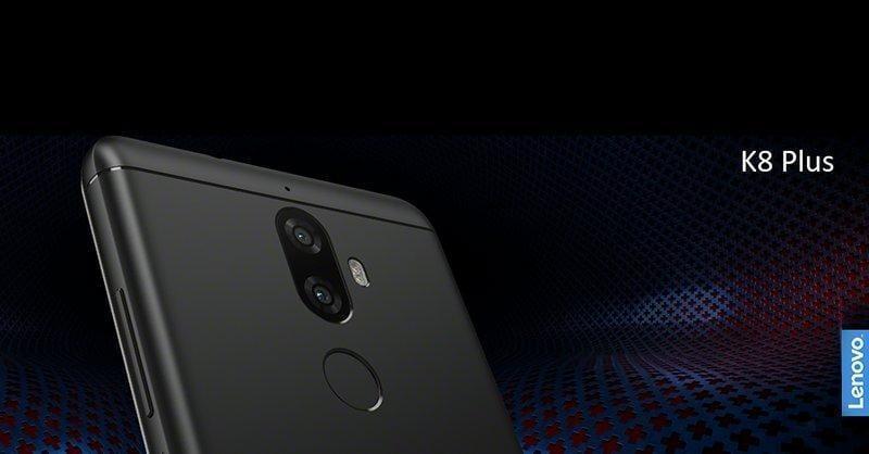 Lenovo представила K8 и K8 Plus в Индии