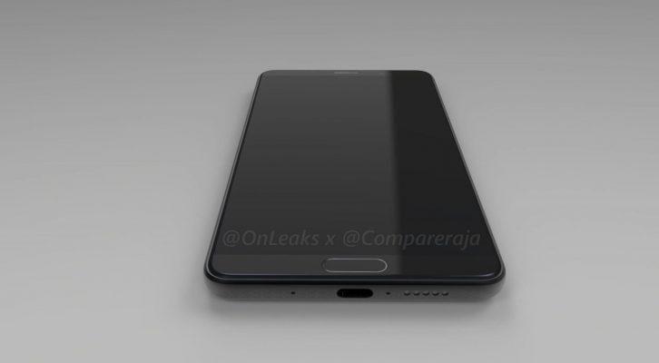 Новый Huawei Mate 10 появился на рендерах