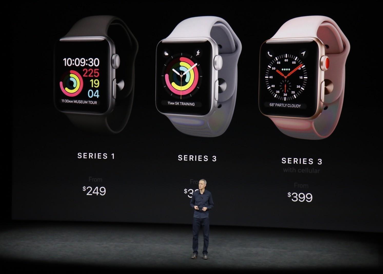 Apple представила Apple Watch с поддержкой 4G