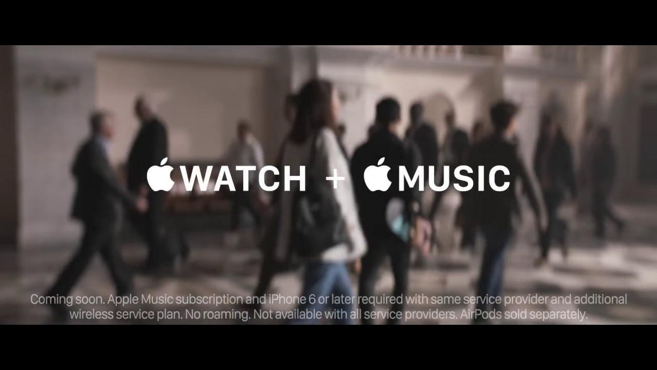 В watchOS 4 больше не отображается музыка