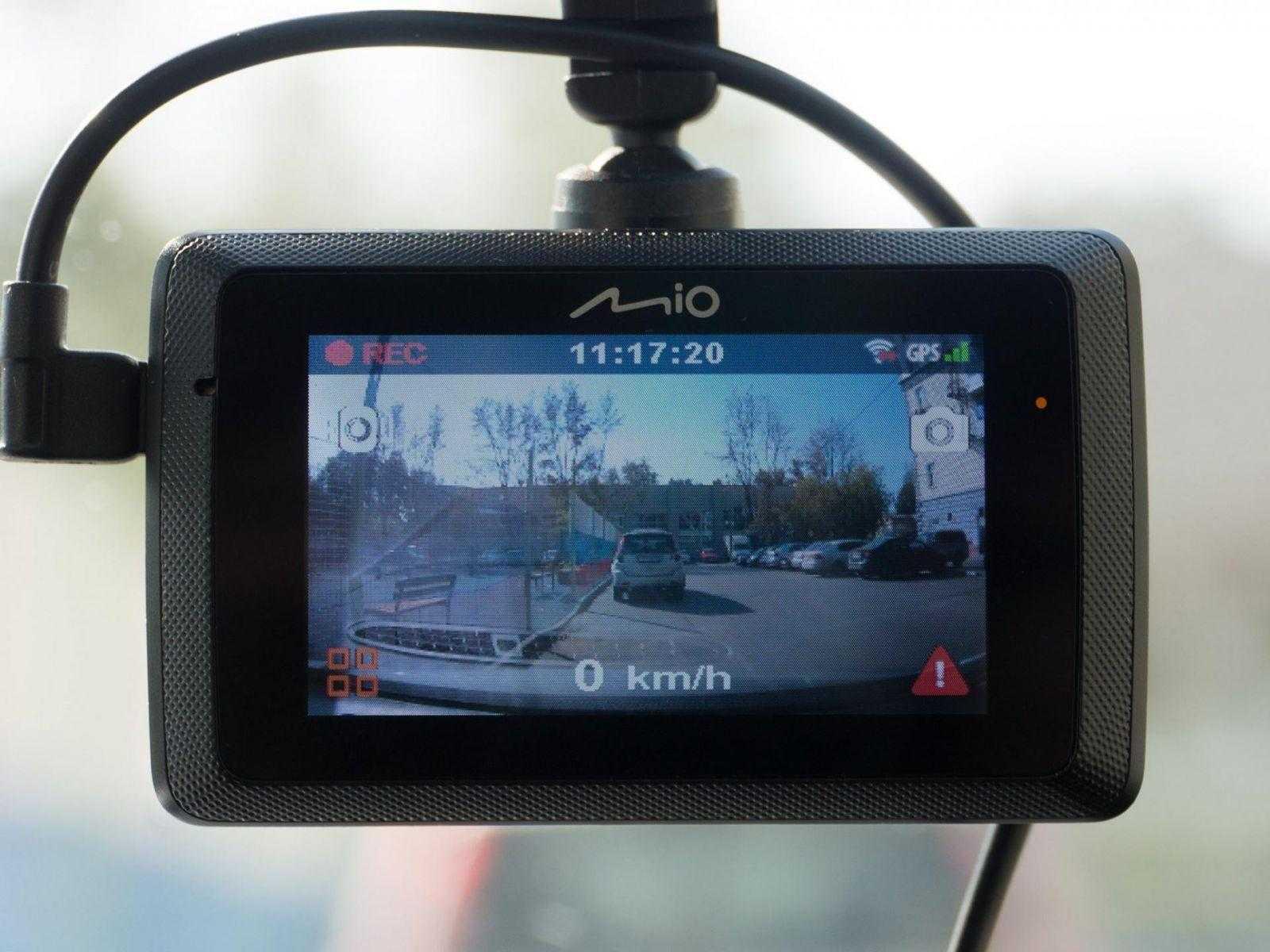 Дорожный свидетель. Обзор видеорегистратора Mio MiVue 786