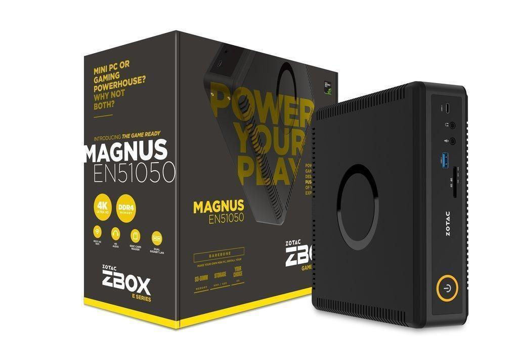 Zotac обновил компьютеры ZBOX MAGNUS