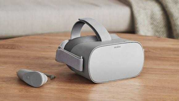 Цукерберг представил VR-шлем Oculus Go