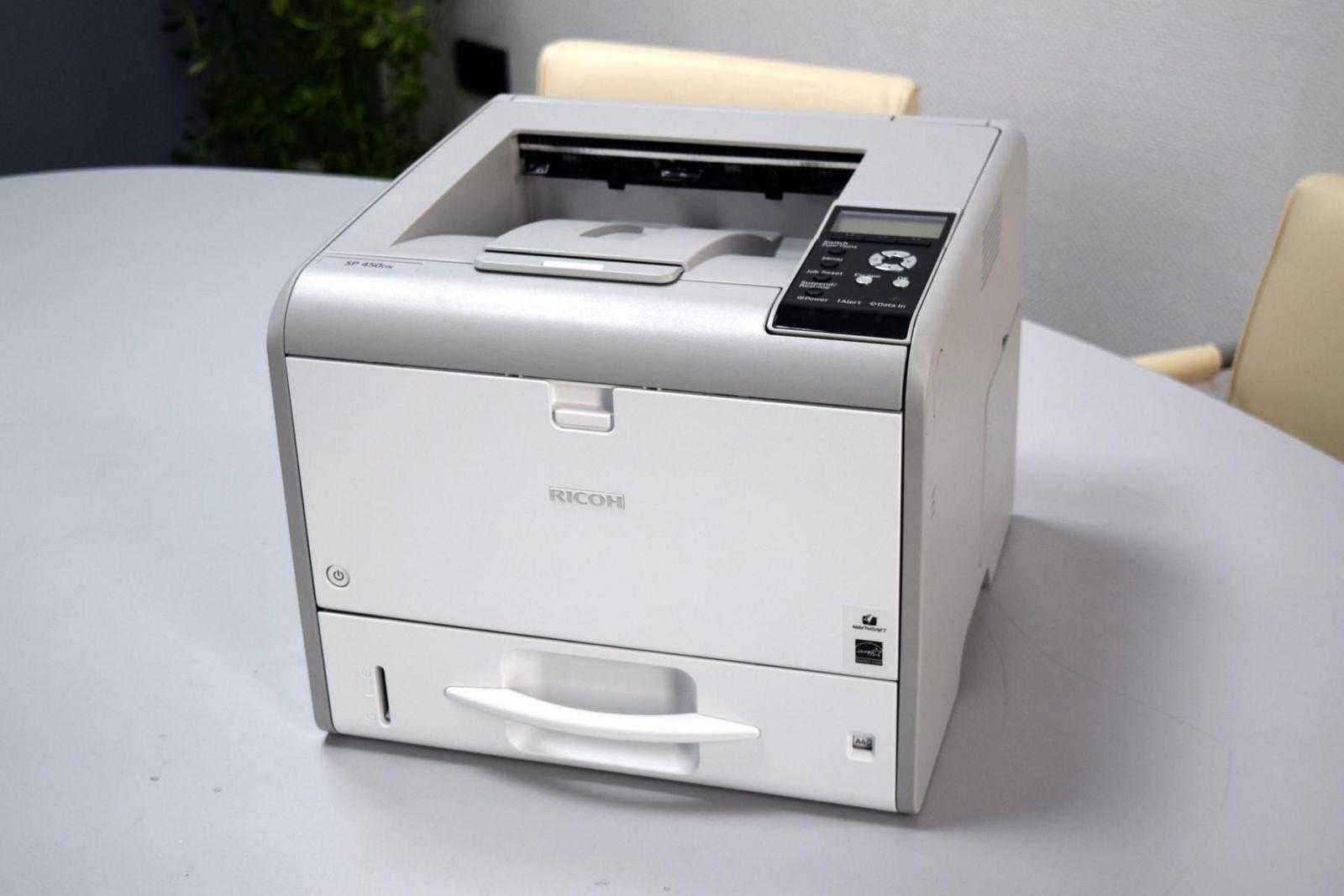 DSC 0748 - Обзор принтера Ricoh SP 450DN. Быстрая печать для офиса