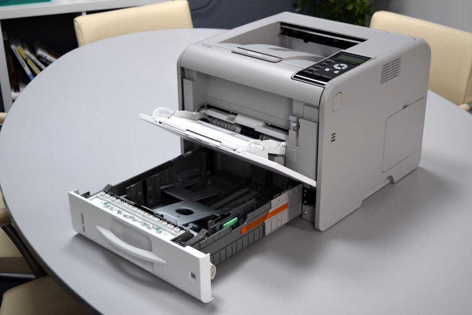 Обзор принтера Ricoh SP 450DN. Быстрая печать для офиса