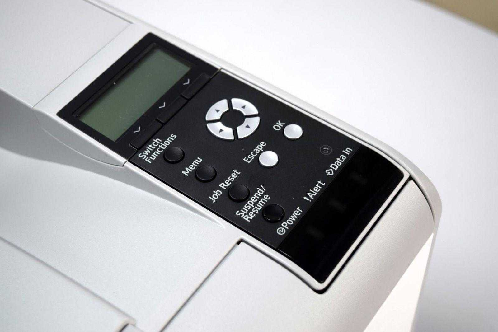 DSC 0764 - Обзор принтера Ricoh SP 450DN. Быстрая печать для офиса