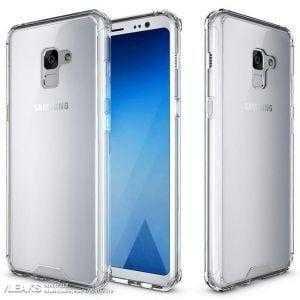 Samsung Galaxy A7 (2018) показали на рендерах