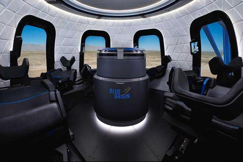 Blue Origin провела запуск новейшей модификации ракеты New Shepard