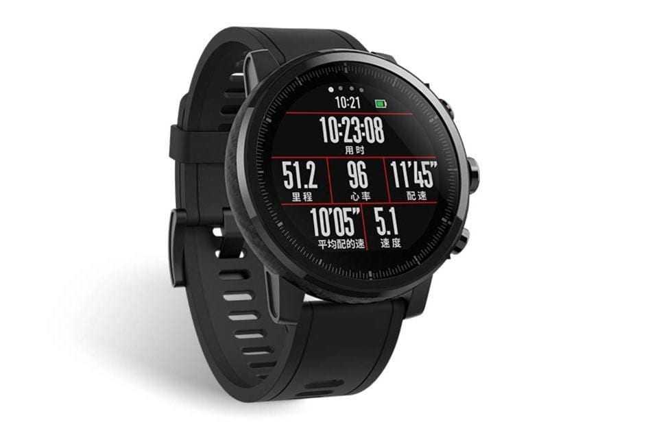 huami amazfit 1 - Дочерняя компания Xiaomi представила умные часы Amazfit 2