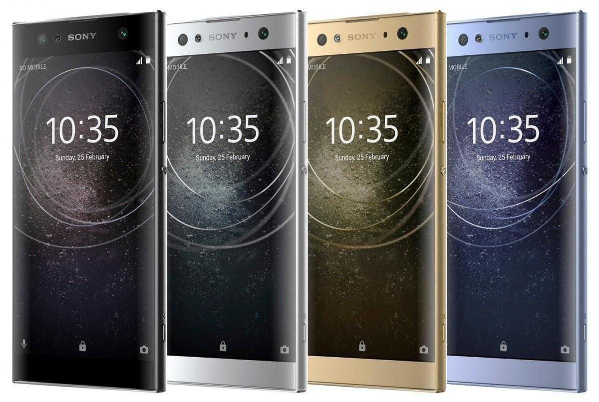 CES 2018: Sony представила три недорогих смартфона