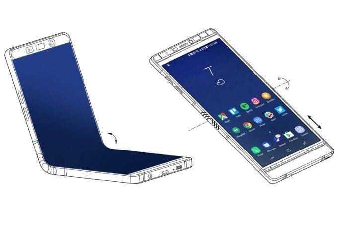 Samsung brought almost finished foldable Galaxy X to CES 7.3 display in tow - CES 2018: Samsung на закрытой встрече показала партнёрам складной смартфон
