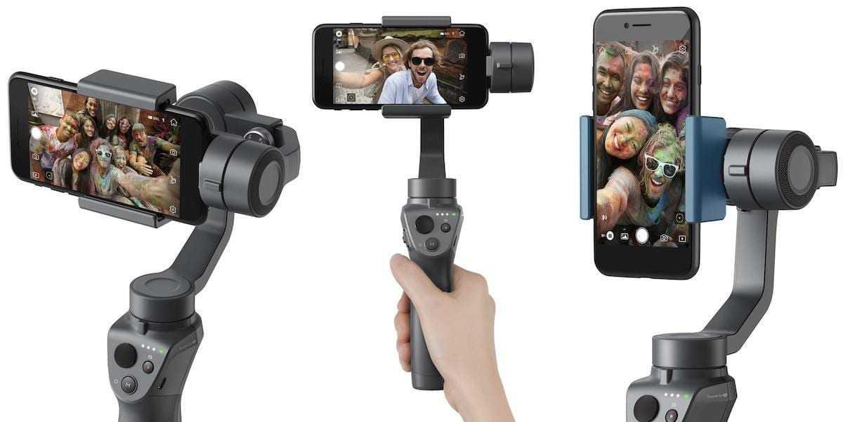 dji osmo mobile 2 - CES 2018: DJI сделал новый стабилизатор Osmo Mobile 2