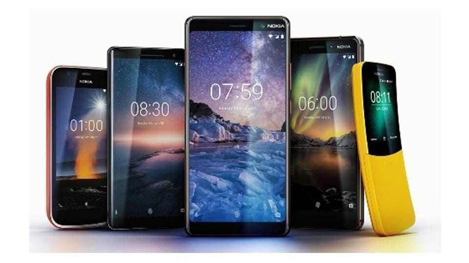 538ed562 1a41 11e8 80b7 5f600041ef82 - MWC 2018. Nokia выпустила 5 новых смартфонов
