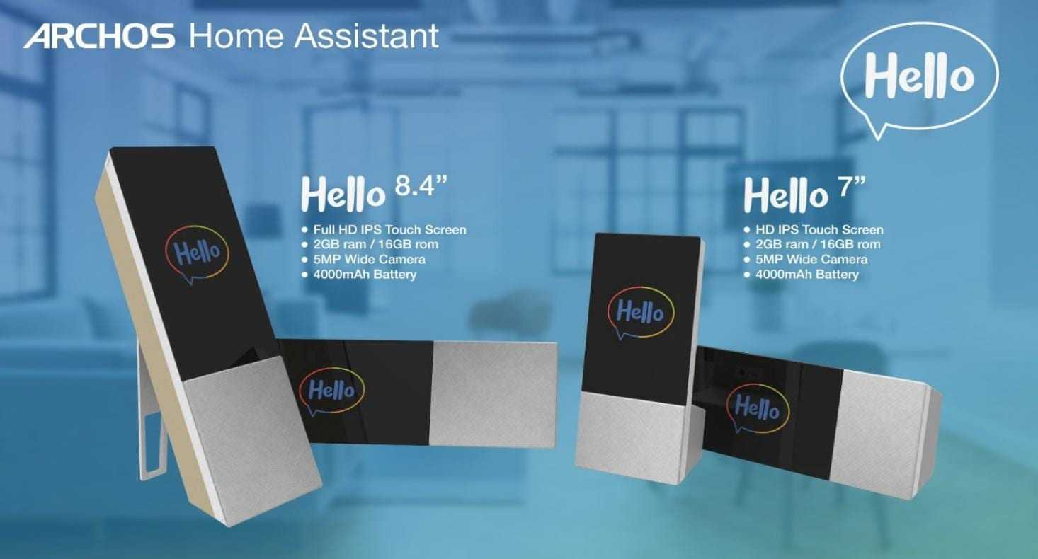 Archos Home Assistant  - MWC 2018. Archos сделал личного помощника Hello