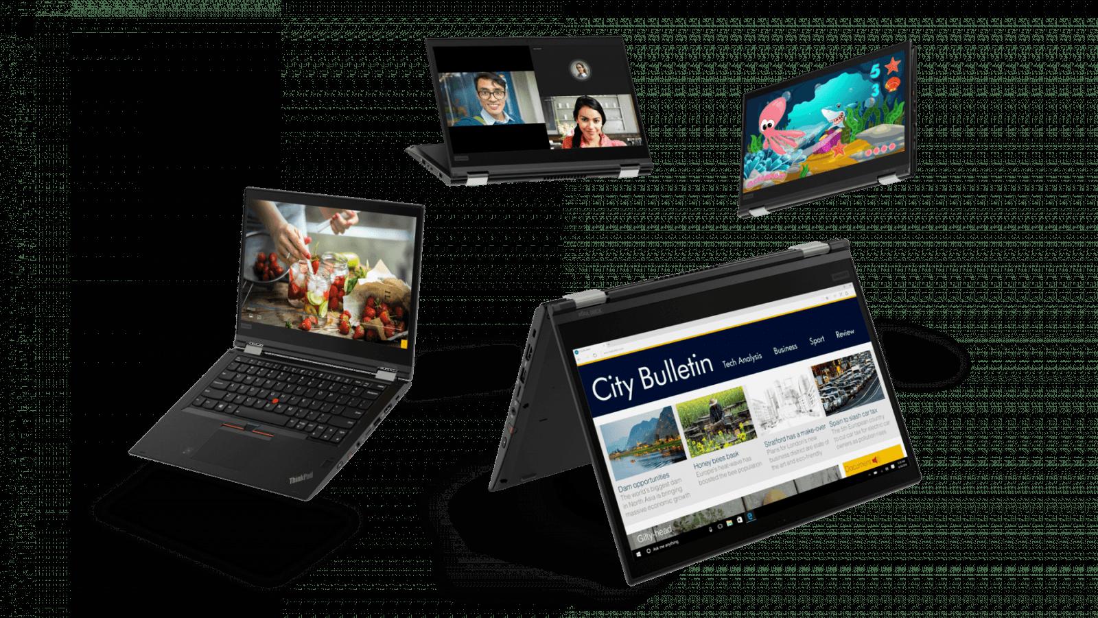 17 THINKPAD X380 Hero Family Black - Lenovo представила в России ноутбуки ThinkPad X1 Yoga, X380 Yoga и L380 Yoga
