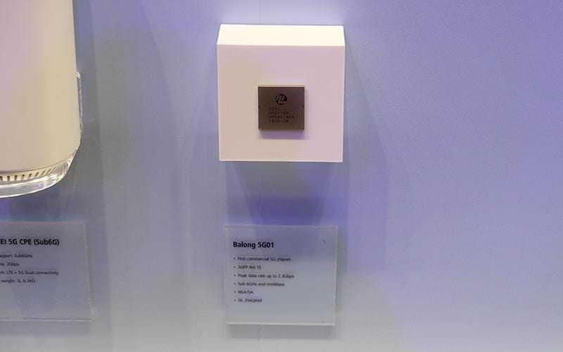 balong 5g01 - MWC 2018. Huawei сделала Balong 5G01 — первый в мире коммерческий чипсет с поддержкой 5G