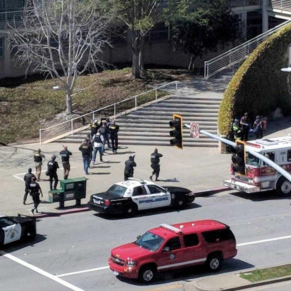1517870674 - Стрельба в офисе YouTube в Сан-Франциско