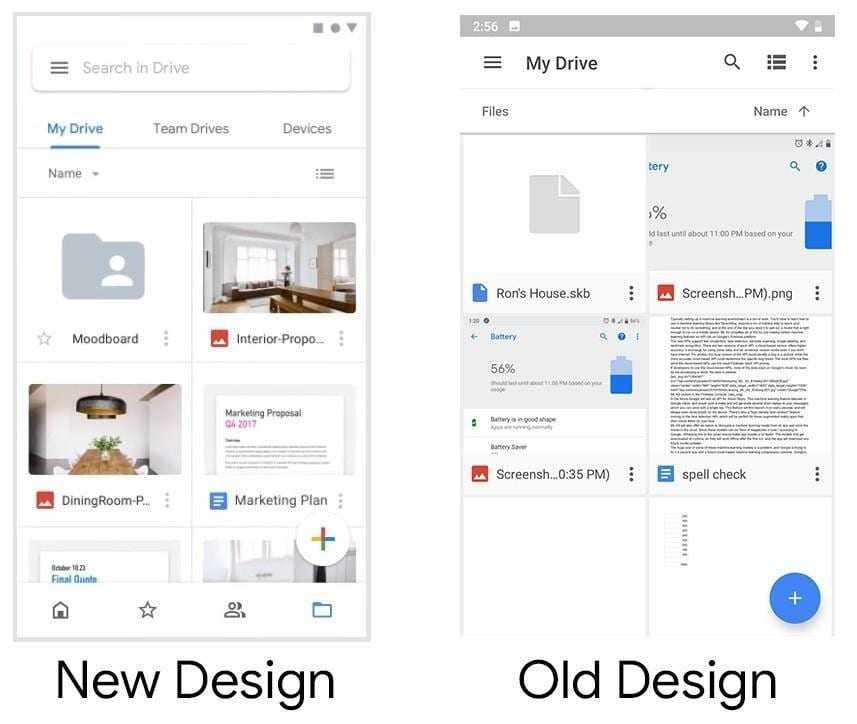 Дизайнер Google опубликовал видео с обновлёнными приложениями компании