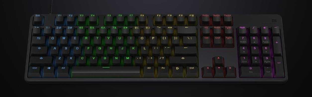 Xiaomi представила клавиатуру Mi Game Keyboard