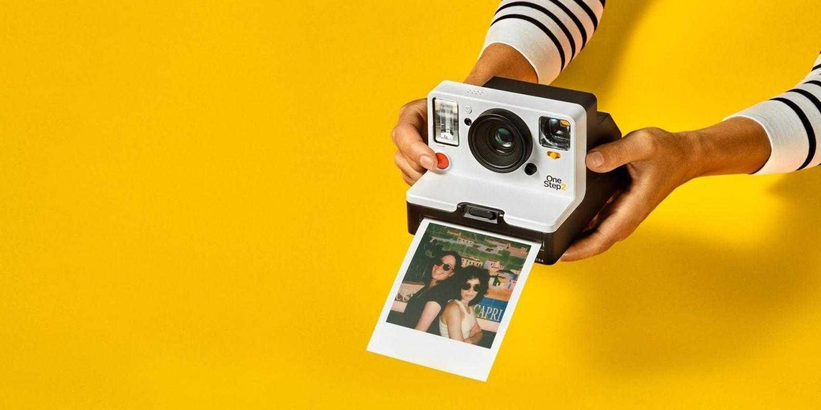 IFA 2018. Polaroid выпускает новую камеру OneStep+ с Bluetooth