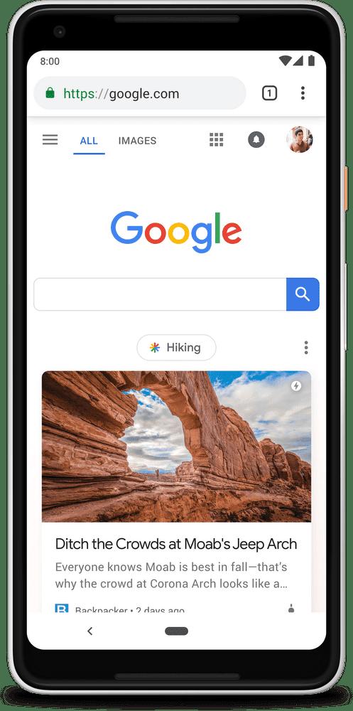 Google Feed переименован в Discover