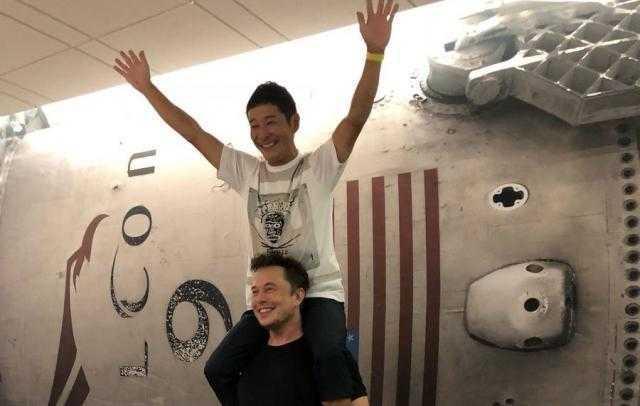 SpaceX отправит японского миллиардера Юсаку Маезава на Луну
