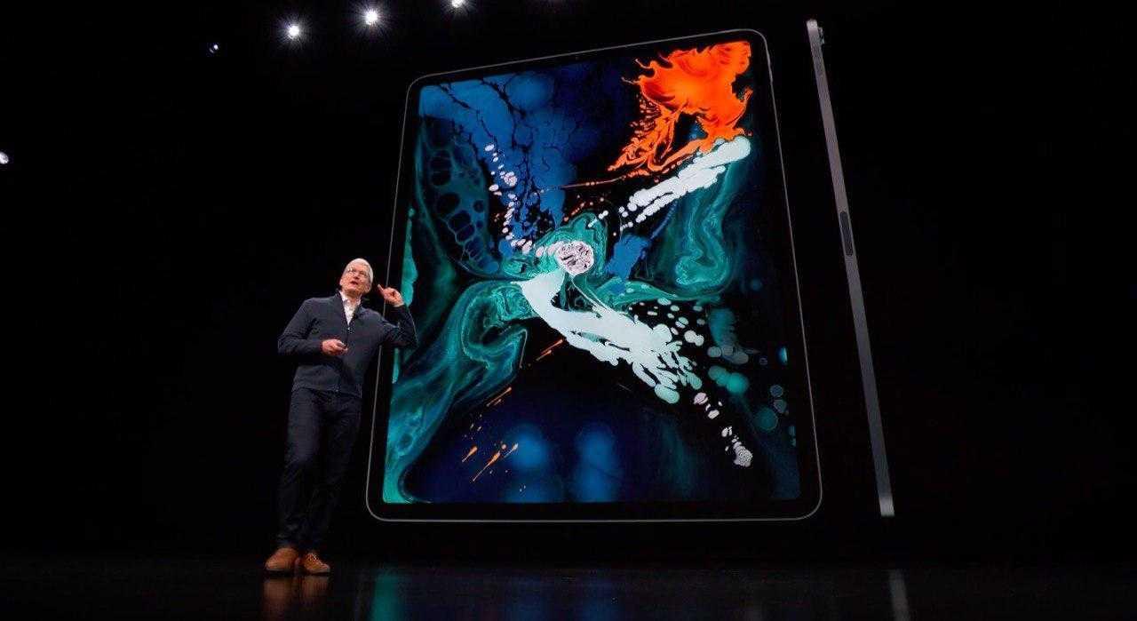 Apple Special Event: Представлен безрамочный iPad Pro с Face ID, но без кнопки Home