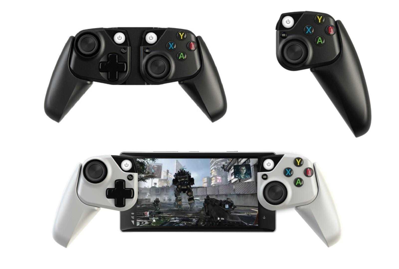 Microsoft разрабатывает контроллеры Xbox для смартфонов