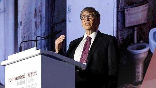 Билл Гейтс представил унитаз, работающий без воды