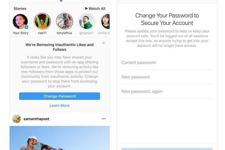 Instagram удалит накрученные лайки и подписки